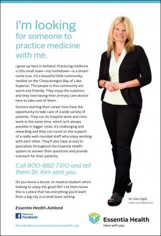 I'm looking for someone to practice medicine with me