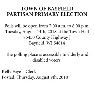 Partisan Primary Election
