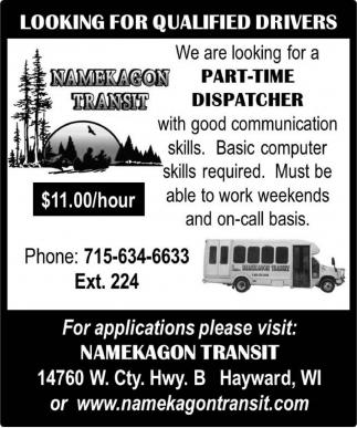 Part-Time Dispatcher