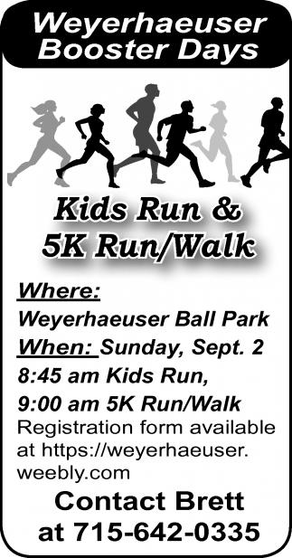 Kids Run & 5K Run-Walk