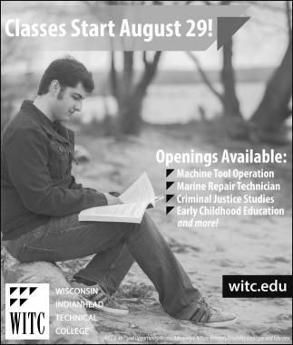 Classes Start August 29!