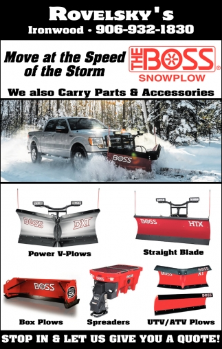 Snowplow, Parts And Accessories