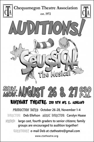 Auditions!