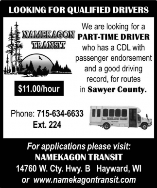 Part-Time Driver