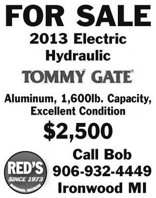 2013 Electric Hydraulic Tommy Gate