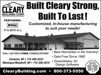Built Cleary Strong!