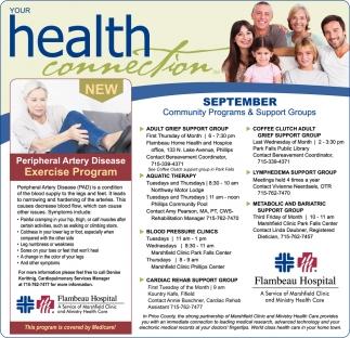 September Community Programs