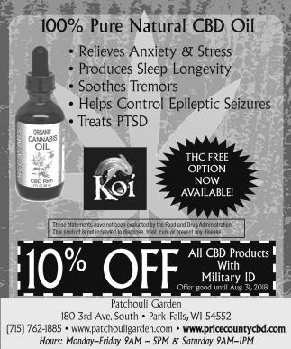 100% Pure Organic CBD Oil