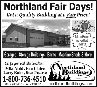 Northland Fair Days!