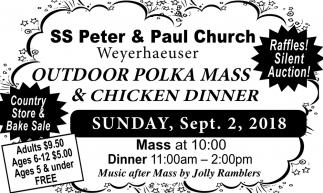 Outdoor Polka Mass & Chicken Dinner