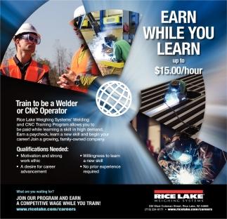 Welder / CNC Operator