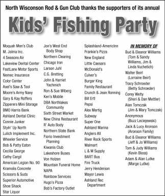 Kids Fishing Party