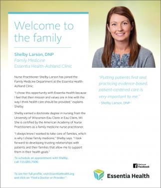 Shelby Larson, DNP Family Medicine
