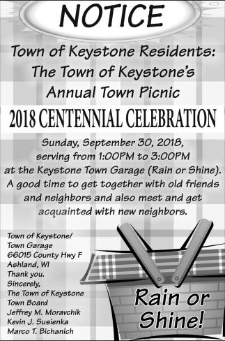 2018 Centennial Celebration