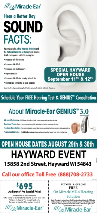 Special Hayward Open House