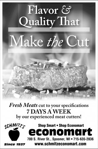 Fresh Meats Cut To Your Specifications