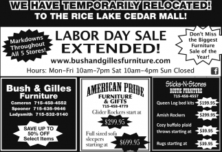 Labor Day Sale Extended!
