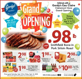 Grand Opening Gordy's Eau Claire
