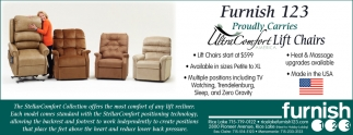 Ultra Comfort Lift Chairs Furnish 123 Eau Claire Wi
