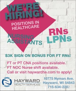 Nursing Assistants