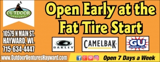 Open Early At The Fat Tire Start