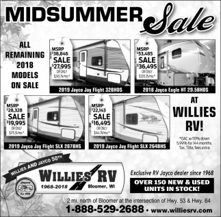 Midsummer Sale