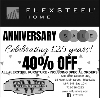 Anniversary Sale 40% Off