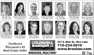 Northwest Wisconsin´s #1 Real Estate Seller