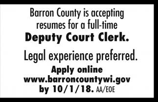 Deputy Court Clerk