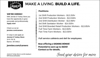 Make a Living. Build a Life