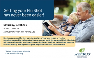 Getting Your Flu Shot Has Never Been Easier