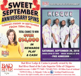 Sweet September Anniversary Spins