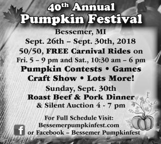 40th Annual Pumpkin Festival