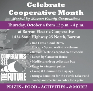 Celebrate Cooperative Month