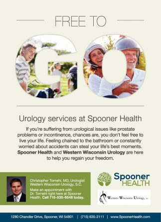 Urology Services at Spooner Health