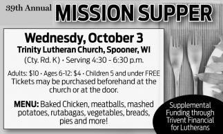 Mission Supper