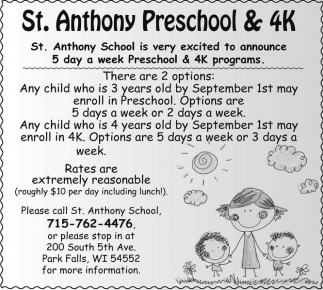 St. Anthony Preschool and 4K
