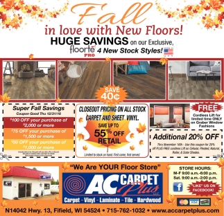 Fall in Love with New Floors