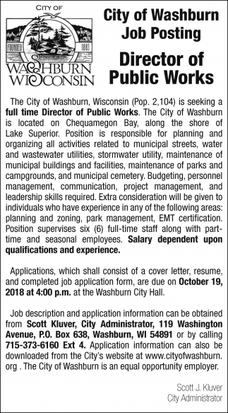 Director of Public Works