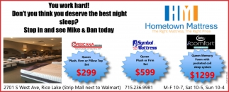 Stop in and see Mike and Dan today