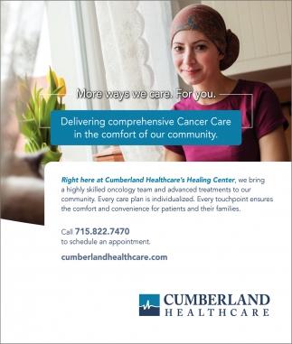 Delivering Comprehensive Cancer Care