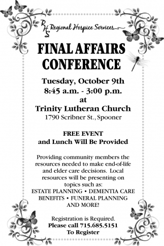 Final Affairs Conference