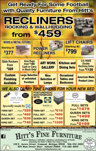 Get Ready For Some Football With Quality Furniture