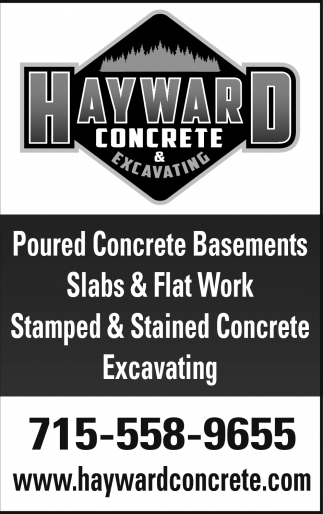 Poured Concrete Basements, Slabs & Flat Work