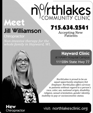 Jill Williamson, Chiropractor