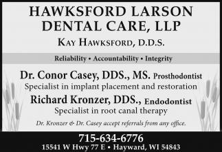 Prothodontist and Endodontist
