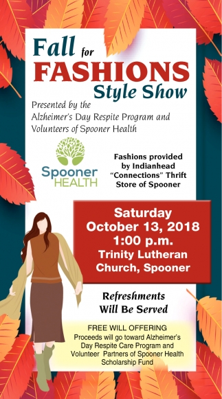 Fall for Fashions Style Show