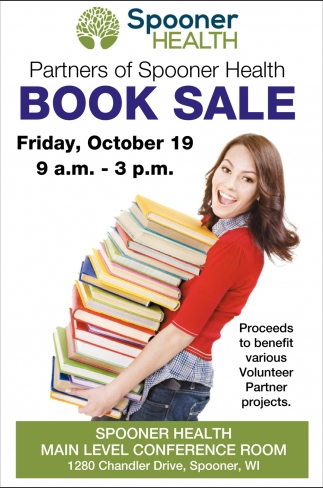 Partners of Spooner Health Book Sale