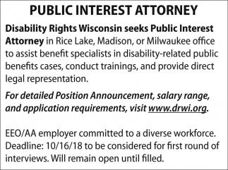 Public Interest Attorney