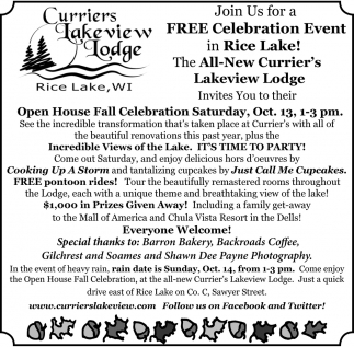 Open House Fall Celebration